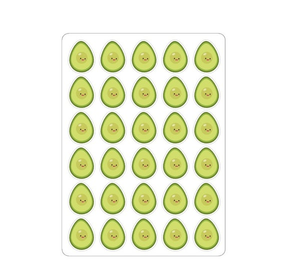 "LovedbyGaby stickers ""Avocado"""