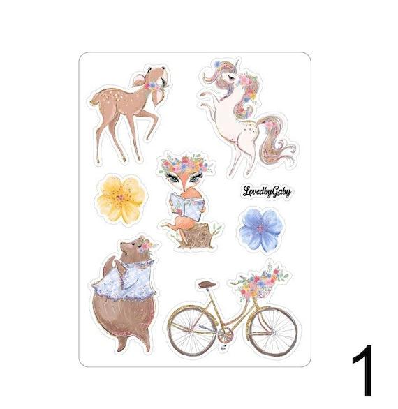 """LovedbyGaby stickers """"Springland"""""""