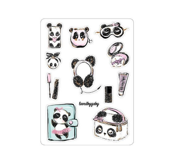 LovedbyGaby stickers Panda Chic