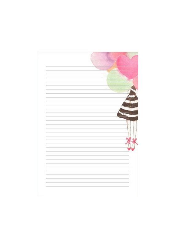 """Notepads """"Balloongirl"""""""