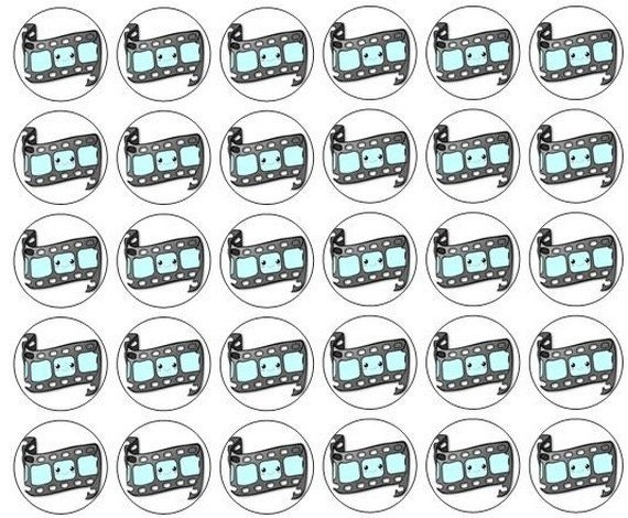 117 Edit/Movie Stickers