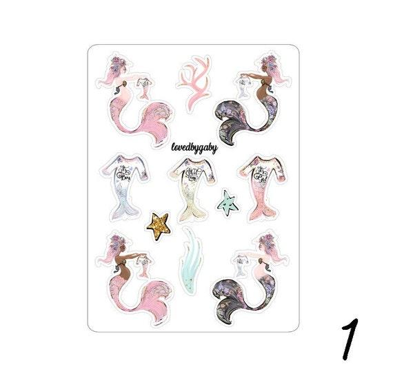 "LovedbyGaby stickers ""Mommy Mermaids"""