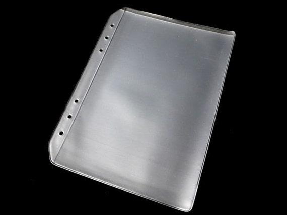A5 plastic envelop insert