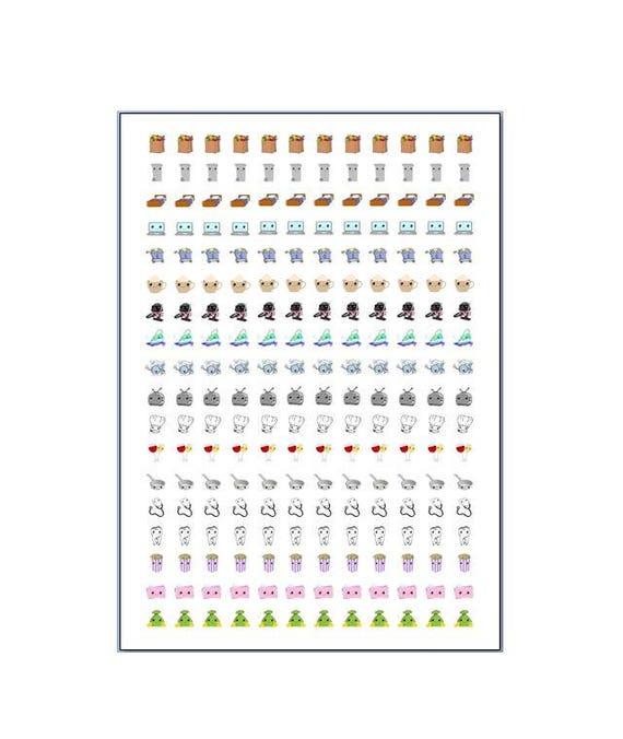 216 planner stickers social media/planning