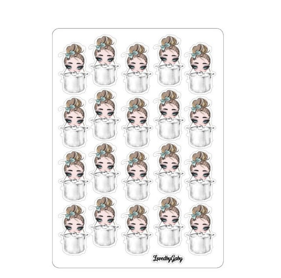 "LovedbyGaby stickers ""girly icon 3"""