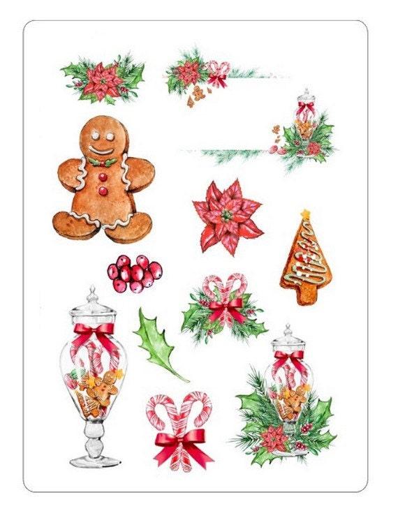 LovedbyGaby christmas stickers