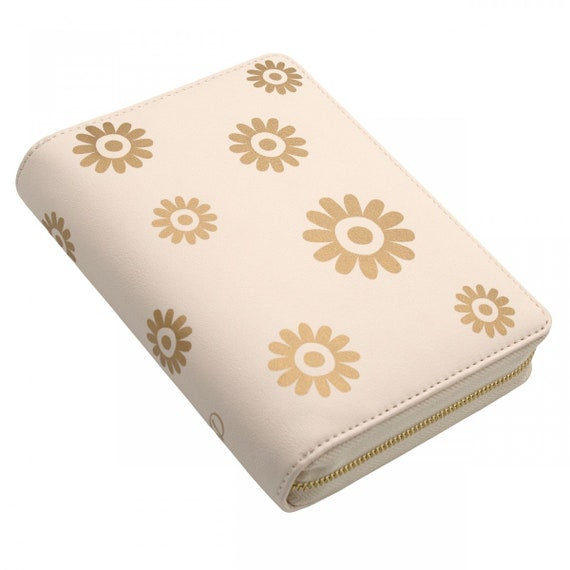 Dokibook personal zipped Blossom gold cover