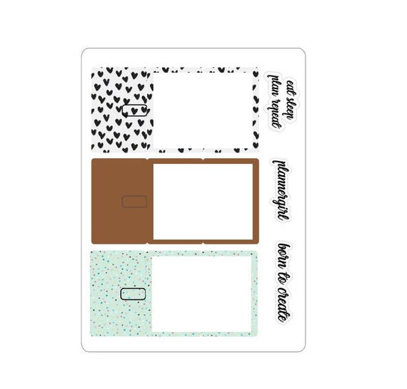 LovedbyGaby stickers Trifold planners or TN's