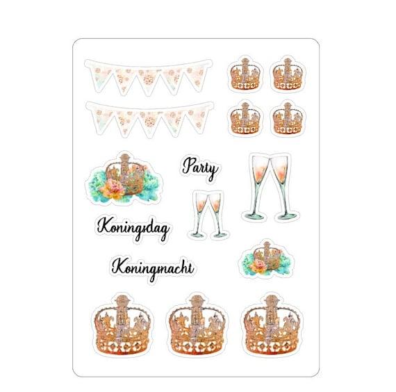 """LovedbyGaby stickers """"Koningsdag"""""""