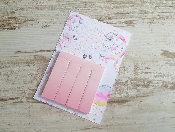 Sticky pageflags ombre pink