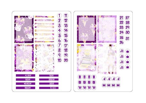 TN A6 boxes sticker kit 3