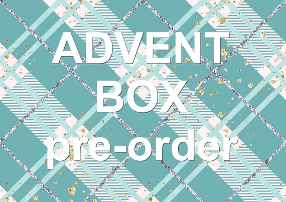 Pre-order Adventbox /Christmas package surprise box 2021