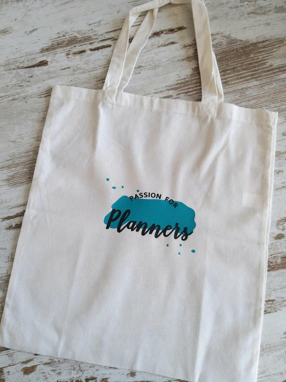 Canvas planner totes