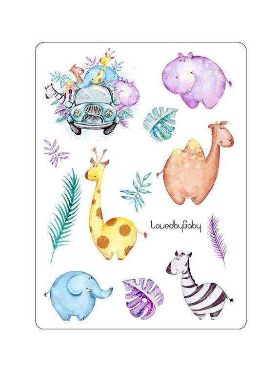 "LovedbyGaby stickers ""Funny Safari"""