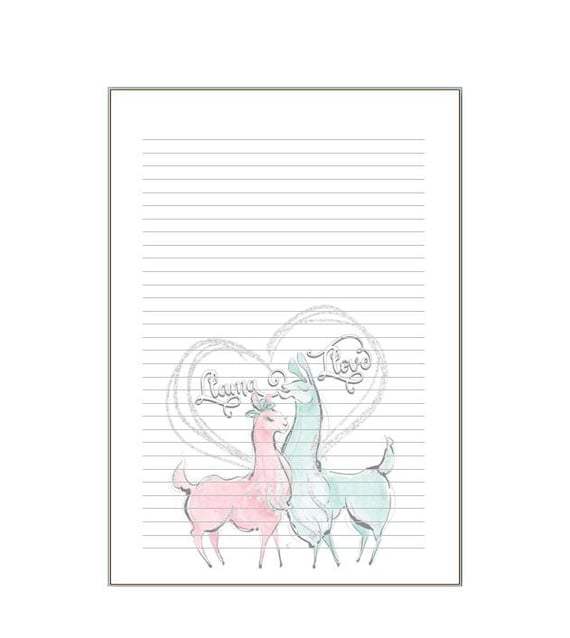 A5 notepads unicorn, anchor, macaron, spring and Tahiti