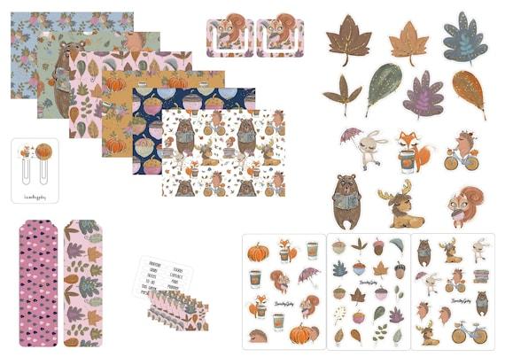 "LovedbyGaby plannerkit ""Autumn tales"""