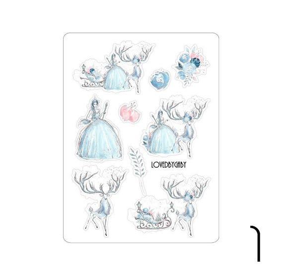 "LovedbyGaby stickers ""Frozen Ice Queen"""
