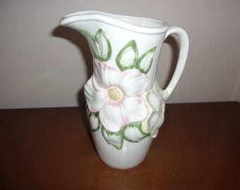 Holland Mold Ceramic Pitcher