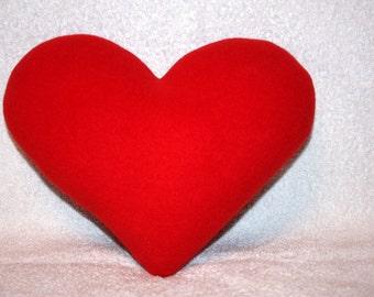 Decorative pillow heart. Gift heart. Stuffed heart. Pillow heart. Love. Pillow love. Valentine's Day. Valentine