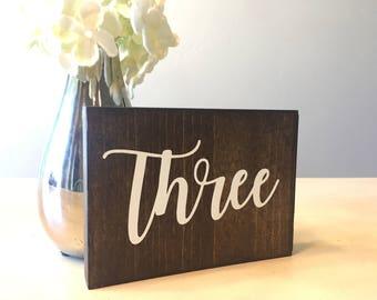 Numéros de Table en bois, numéros de Table en bois, numéros de Table de mariage, numéros de Table de mariage rustique, numéros de Table en bois rustique, numéros de Table