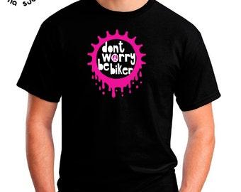 446185f4a T-shirt MBS Dont worry be biker