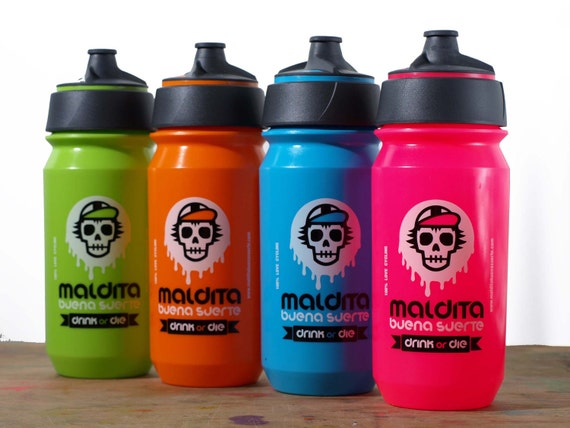 "Cycling bottle MBS ""Drink or Die"""