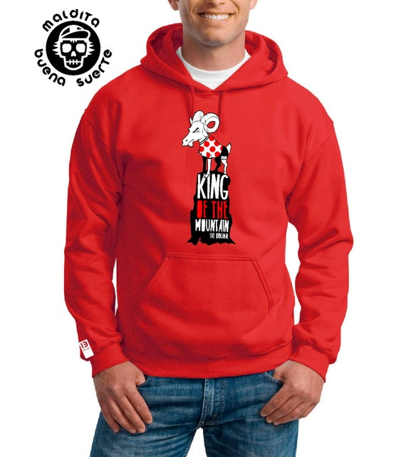 Sweatshirt Unisex MBS King of the mountain