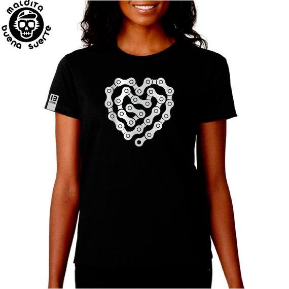 MBS Chain Heart Girl T-Shirt