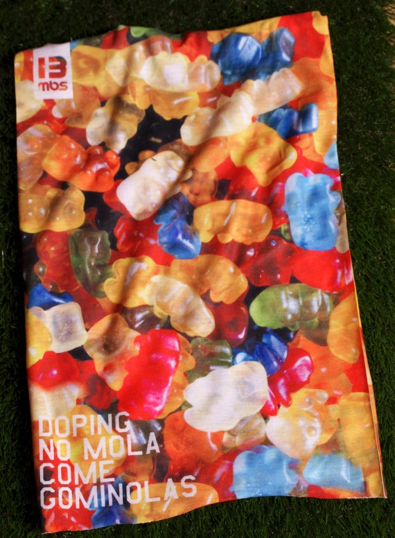 Multipurpose Scarf Doping No mola come Gominolas