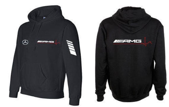 mens amg mercedes sport hoodie sweatshirt jacket blouse etsy. Black Bedroom Furniture Sets. Home Design Ideas