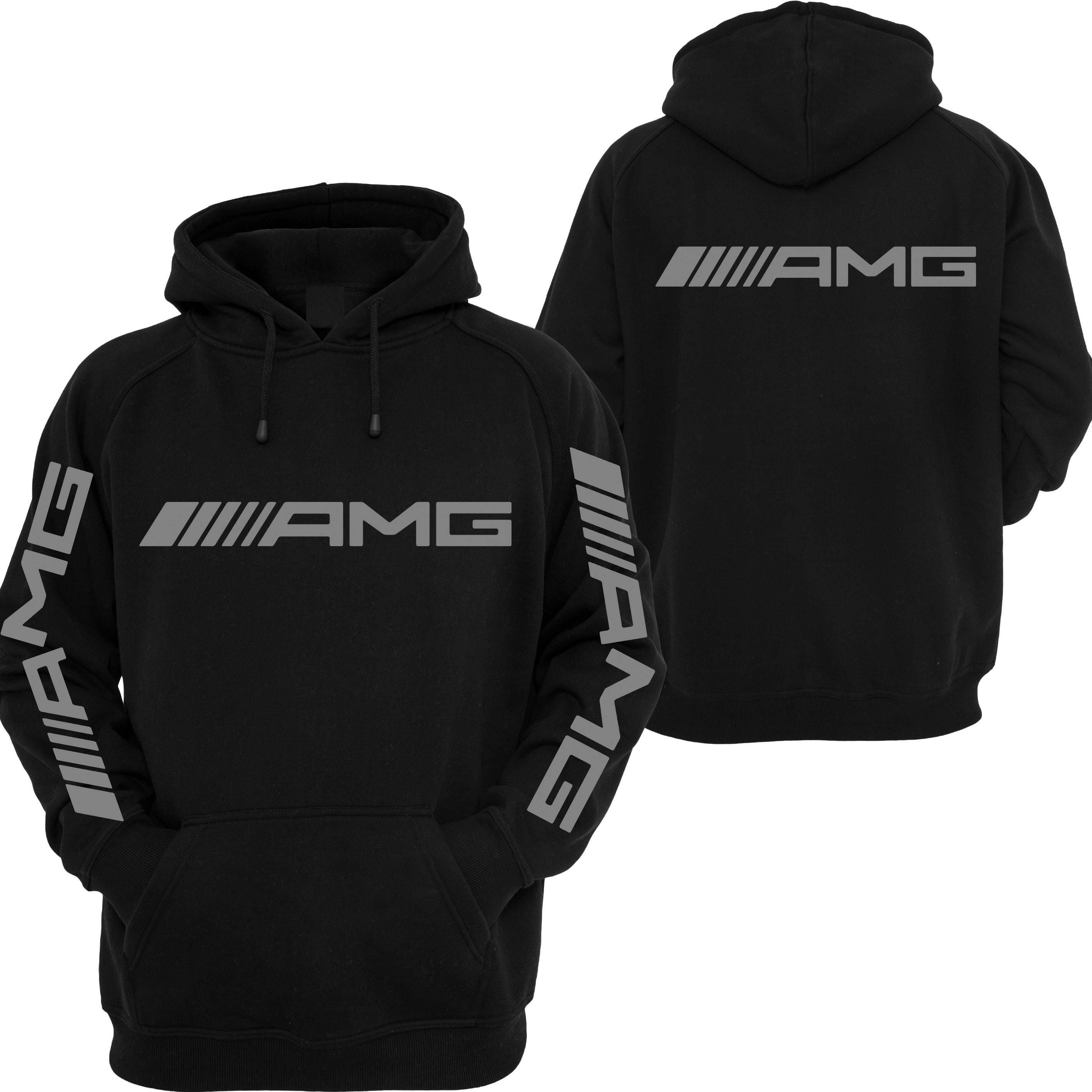 herren amg mercedes hoodie sweatshirt d nne sport jacke etsy. Black Bedroom Furniture Sets. Home Design Ideas