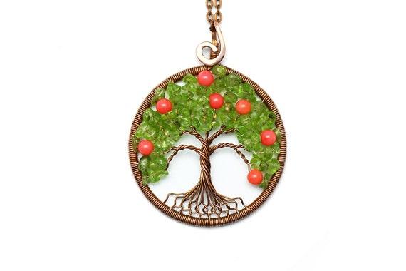 Baum des Lebens Anhänger Baum des Lebenhalskette Stammbaum