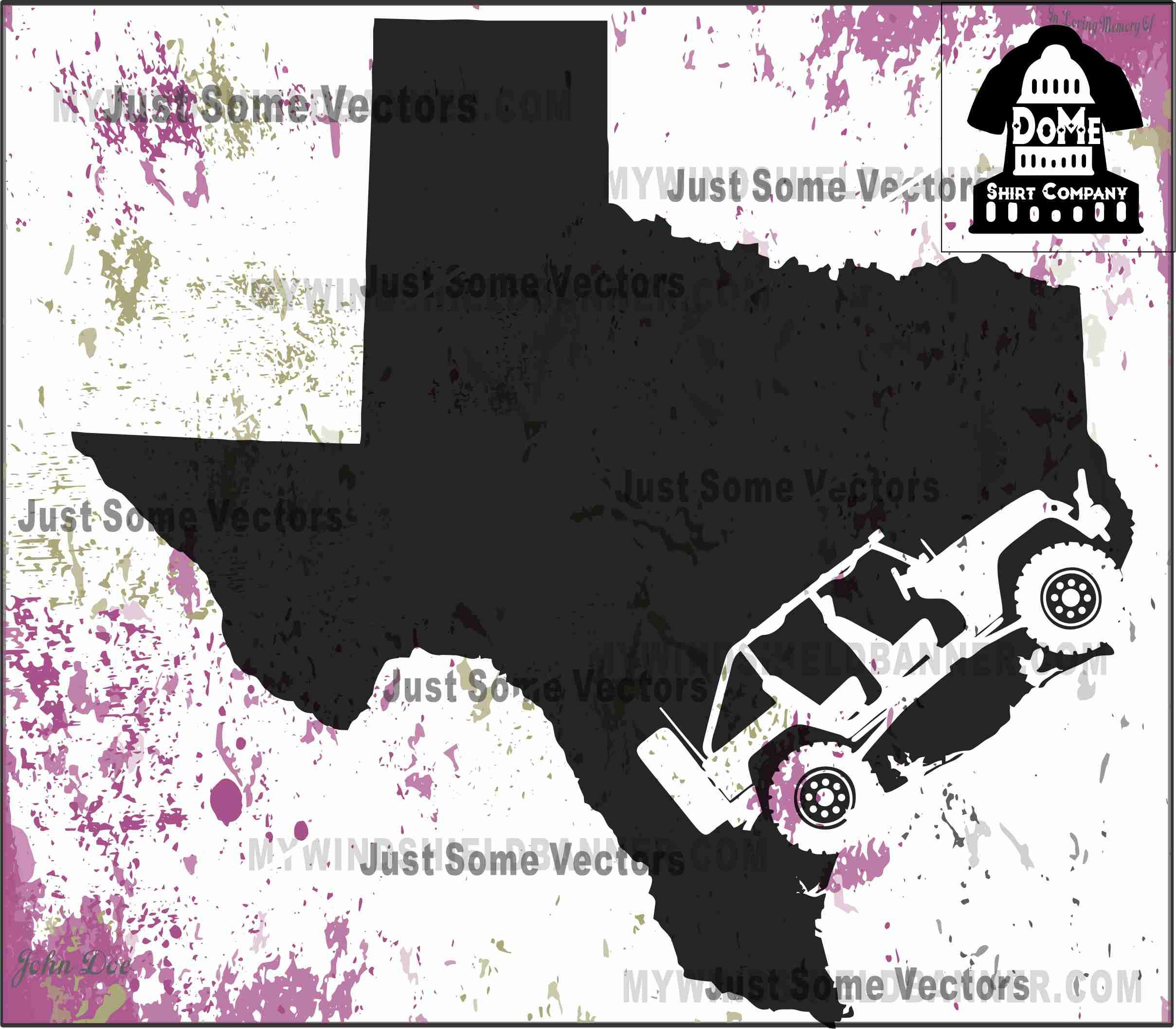 Texas Home State Jeep 4 Door Jk Wrangler Tx Vector Files Svg Etsy