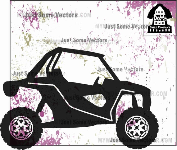 Razor Side By Side >> Razor Rzr Side By Sided Atv Vector Files Svg Use For Decals Crafts Tshirts Vinyl Cutting