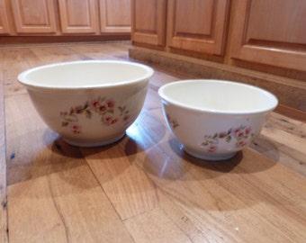 Set of vintage Kitchen Kraft mixing bowls