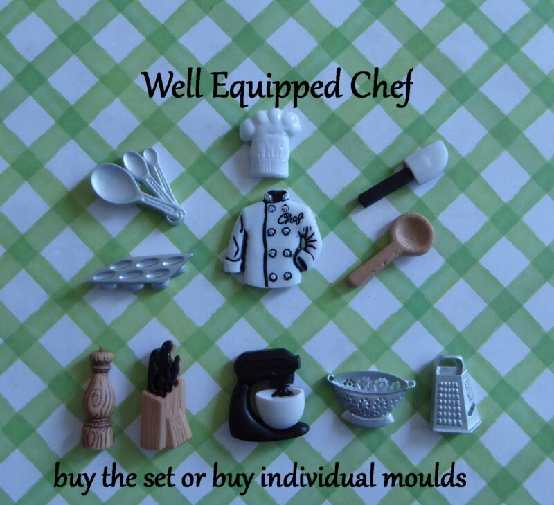 Kochs Mantel Silikon Form Fondant Schokolade Süßigkeiten   Etsy