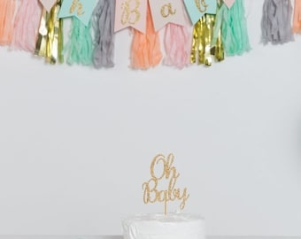 ON SALE Oh Baby Banner