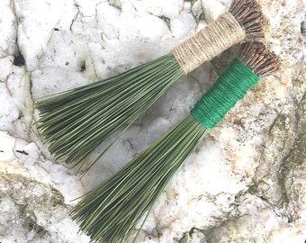 Pine Needle Hand Broom