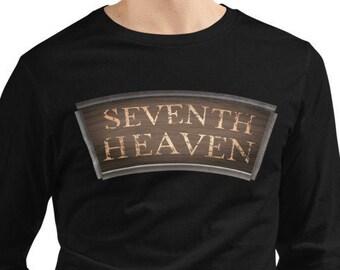 SEVENTH HEAVEN Deluxe Unisex Long-Sleeve Shirt Final Fantasy 7 VII Remake Midgar Cloud Strife Tifa Aerith Sephiroth