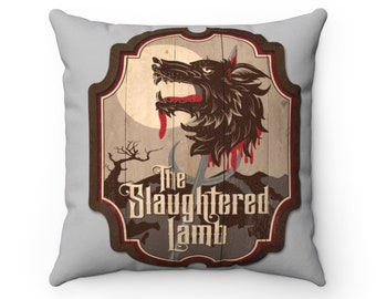 Slaughtered Lamb, American Werewolf In London Pillow