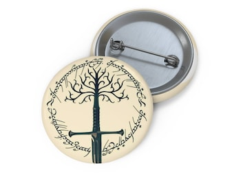 LOTR Sword of Anduril Return of the King Pin Buttons