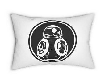 BB8 Star Wars Force Awakens Lumbar Pillow