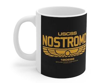 Alien Nostromo Spaceship Mug 11oz