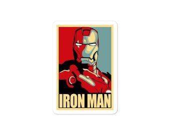 Iron Man Hope Sticker