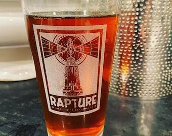 Bioshock Rapture Beer Pub Pint Glass,  Drinkware