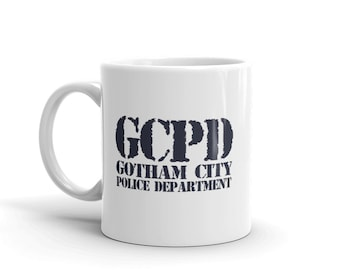Gotham City PD Mug