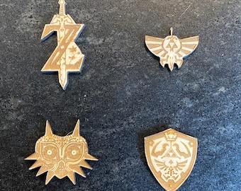 Legend of Zelda Mask of Majora Refrigerator Magnet or Pins, terrific gifts