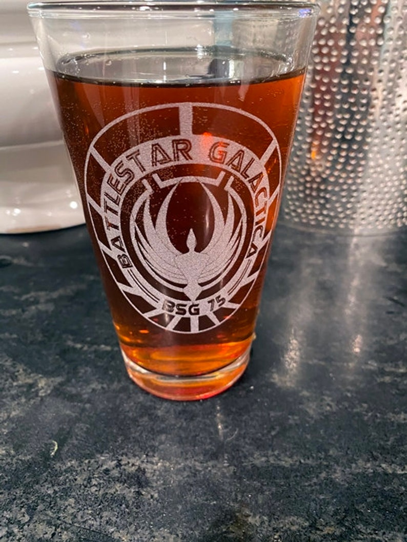 Drinkware Battlestar Galactica Beer Pub Pint Glass