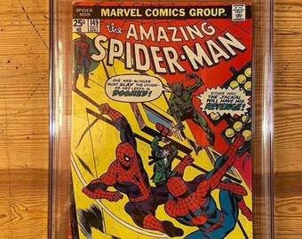 CGC graded 6.5  Vintage Spider-Man #149, first appearance of Ben Reilly