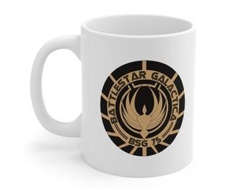 Battlestar Galactica  BSG 75 Mug 11oz